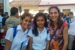 Nadia Mifsud. 2016, waqt festival fin-Nikaragwa.